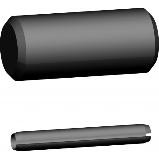 Bolzen-Garnitur für Lasthaken und Sicherheitshaken mit Gabel und Verkürzungsklaue KBG 10 U