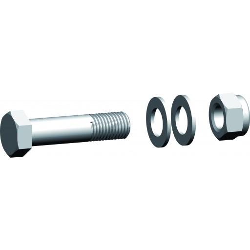 Schraubengarnitur für Verbindungsbügel UBMS 10