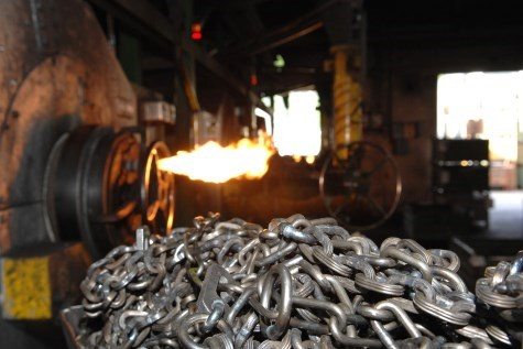 KWB Anschlagketten Produktion